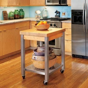 John Boos kitchen islands for stylish houses and apartments
