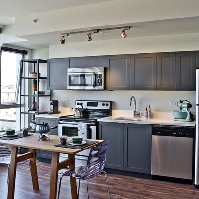 Contemporary small kitchen designs Pictures, Decor and Ideas One Wall Kitchen Design