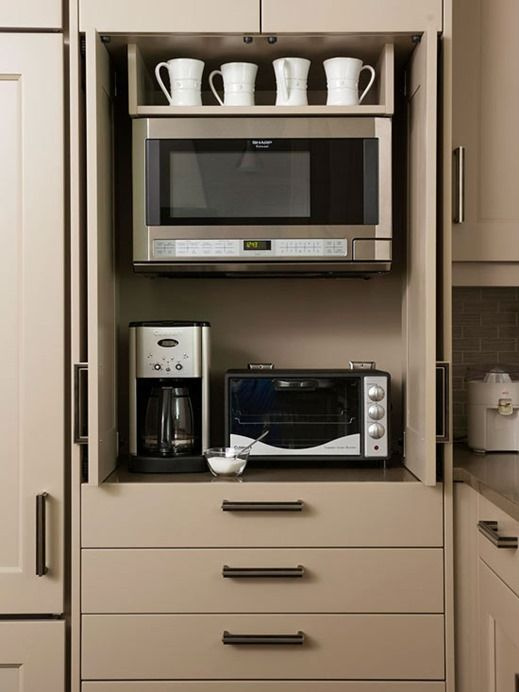 Elegant Disappearing Microwaves photo