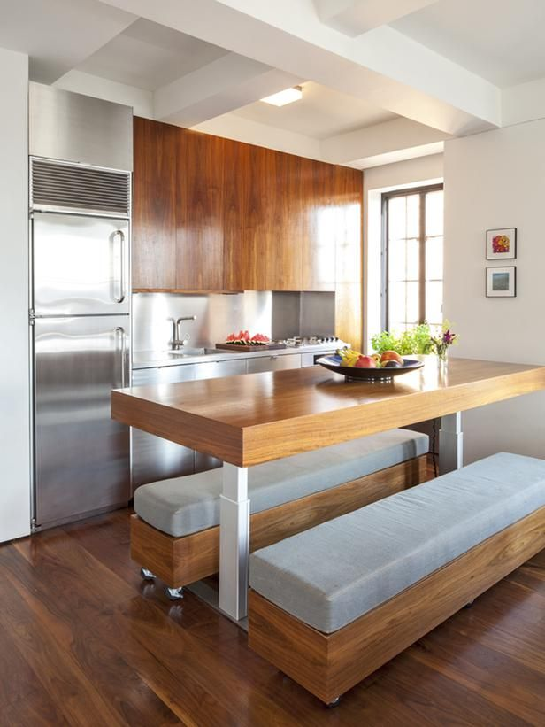 Tips for Turning Your Small Kitchen Into an Eat-In Kitchen Kitchen ...