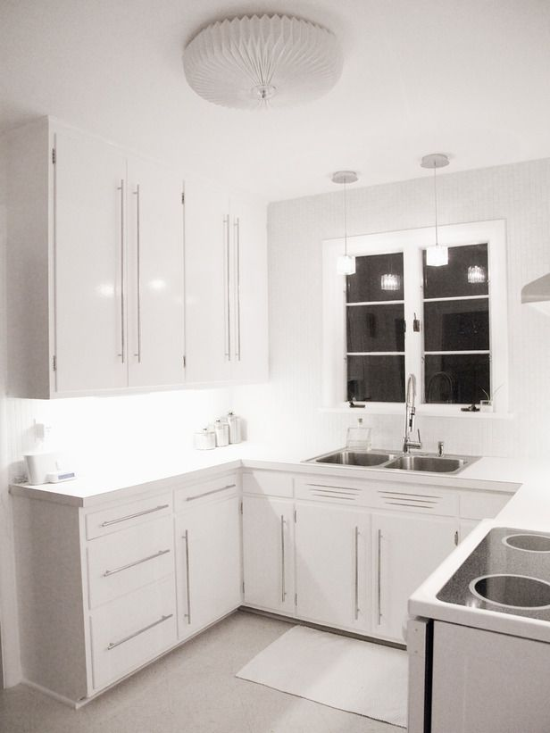 Small White Kitchen Ideas Part - 35: White Small Kitchens Timeless And Transcendent White Small Kitchens Small  Kitchen Design Ideas And Inspiration ...