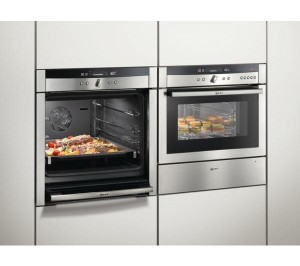 Modern cooktop and electric oven, photo