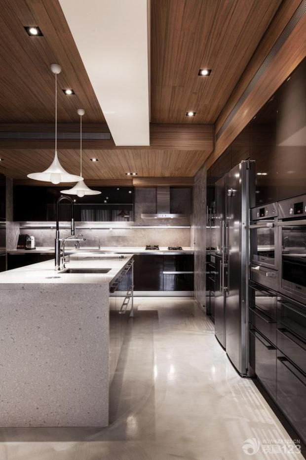 Photo Gallery Of The The Stylish Interior Of A Modern Kitchen