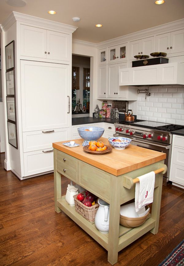 perfect kitchen island for small spaces - Small Kitchen Island Ideas