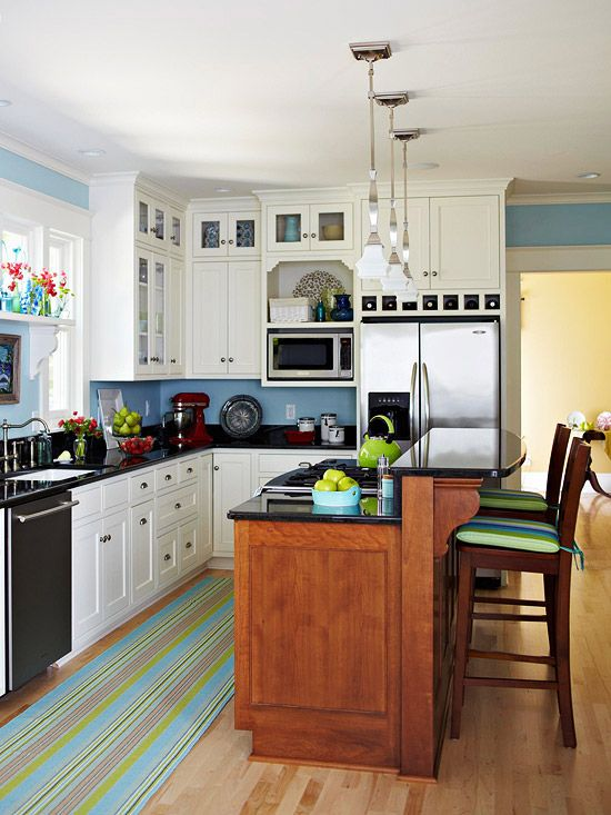 Small space kitchen islands leaving you inspired