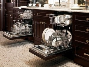 Small kitchen solutions! one drawer dishwasher