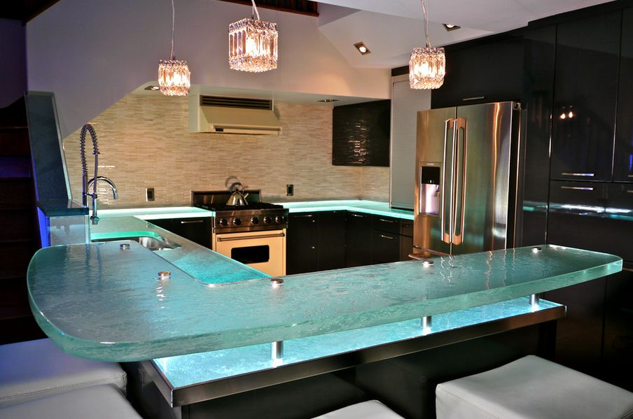 Bio-Glass Kitchen Countertops
