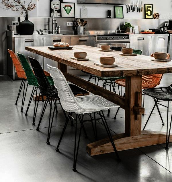 how to choose modern kitchen chairs and tables - Modern Kitchen Chairs