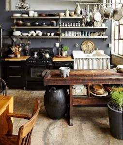 How to Choose the Gray and wood facade Kitchen