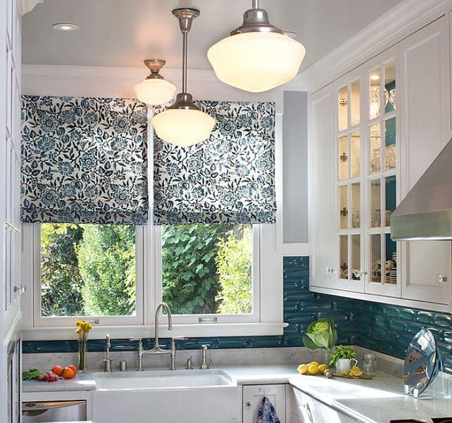 Country Kitchen Roman Blind. Blinds In The Kitchen. Modern Trends In Window  Treatments : Modern Kitchen Furniture Photos, Ideas U0026 Reviews