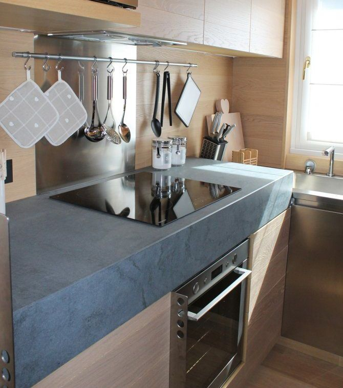 Wonderful Space Saving Ideas For Small Kitchens Part - 8: Modern Space-Saving Ideas For Small Kitchen