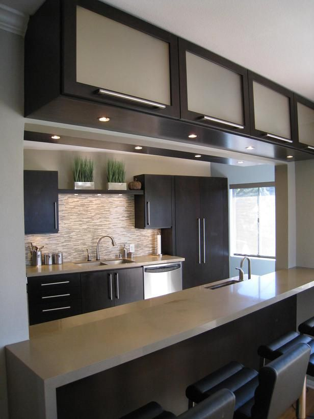 modern design small Kitchen