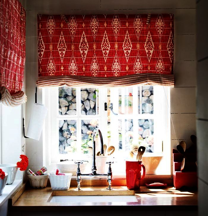 Photo Gallery Of The Kitchen Curtains Design. Ideas For The Kitchen.