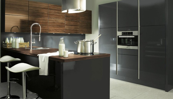 Kitchen peninsula for small kitchen : modern kitchen furniture ...